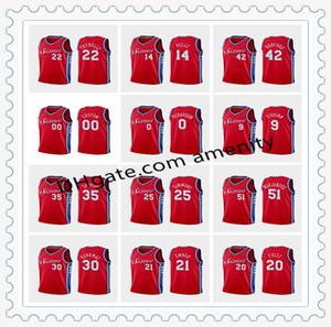 76ers personnaliséscrême PhiladelphiaHarris 21 Embiid 22 Thybulle 25 maillots de basket-ball Simmons Tobias Joel Ben déclaration Matisse
