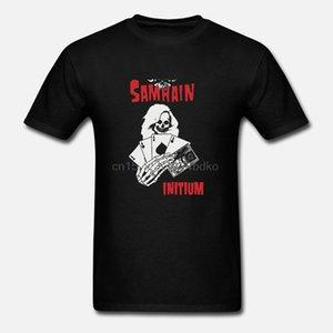 Samhain Karten Initium Schwarz Herren Danzig Misfits Punk Rock Horror Punk Hoodie Designer-T-Shirts Sweatshirt