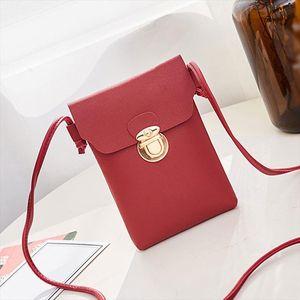 Mini Shoulder Bags Women Black Leather Crossbody Bag Childrens Coin Phone Handbags Brand Small Purses for Girls Kids 2019
