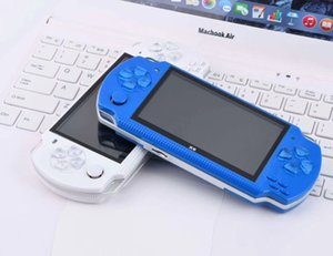 PMP X6 Handheld Game Console Screen 8gb For PSP Game Store Classic Games TV Output Portable Video Game Player