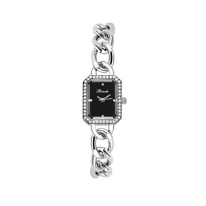 Nouvelle Arrivée Gold Montre Femme Robe Montre Chaîne en acier inoxydable de Prestige avec bracelet de mode en cuir bracelet à quartz bracelet pour dame cadeau