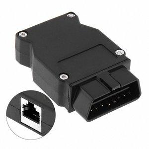 Abertura OBD-II 16Pin masculino Auto Extension Cable Car Diagnostic Interface de conector com cabo plug Boca A26H #