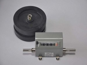 Wholesale-0-99999 Meter counter M counter length counter with 2 wheel Have reset function quXe#