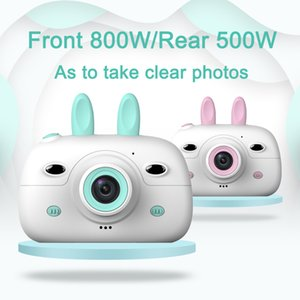 Kids Mini Digital HD Video Camera Cute Cartoon Toy Camera Children Educational Photography for Boy Girls Birthday Christmas Gift T200712