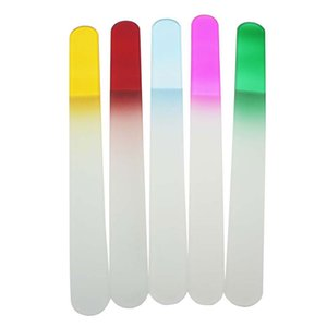 """GLASS NAIL FILES CRYSTAL NAIL مسمار عازلة CARE 7.7 """"/19.5CM 2000PCS / LOT الشحن المجاني # NF019"""