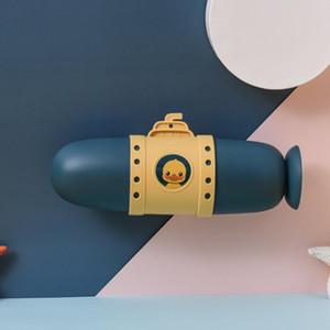 Подводная лодка зубные коробки путешествия зубная щетка хранения коробки организация портативное мытье чашки милая пара зубной коробки установлен HWB2807