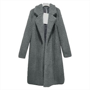 Spring Women Coat Thin Fashion Solid Plus Size Wool Blend White Long 3XL Vintage Turn Down Collar Streetwear Coats