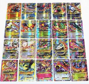 Nuevo Hot 60 PCS / Set GX Mega Shine English 20 Mega + 25 GX + 59 Ex +1 Energy EX Tarjetas GX Tarjetas GX No Repetir Niños Juguetes