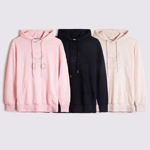 Men Classic Hoodies Fashion Embroidery Pullover Tops Mens Women Trendy Embroidey Letters Sweatshirts Casual Hoodies