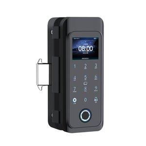 Smart Door Lock Fingerprint Electric Lock Digital Gate Opener RFID Biometric finger print security Glass Password Card 2000 User