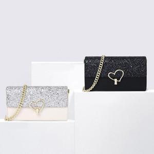 for clutch women Bags Evening Leather chain fashion purse lady shoulder bag handbag presbyopic mini package messenger bag card holder MUKK s