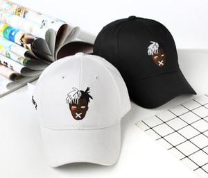 Nueva Moda Unisex Béisbol Gorra Cantante Xxxtentacion Dreadlocks Snapback para hombres Mujeres Hip Hop Hat Fashion Unisex Béiseb Cap1