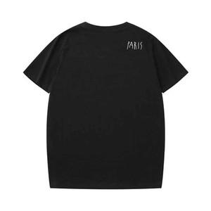 2019 лето дизайнер футболки для мужчин топы роскошные буквы вышивка футболка мужские женские одежда с короткими рукавами футболки мужские тройники