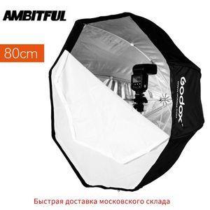 Godox 80см 31.5in Портативный восьмиугольная Softbox флэш Speedlight Speedlite Softbox Umbrella Brolly Отражатель (Softbox Only)