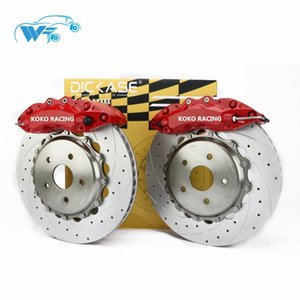 KOKO RACING cars modified brake system WT7040 brake caliper 6 pot temperature pads for kia yp canival(cedona) 2016 LHtW#