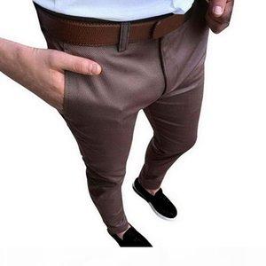 CALOFE Vintage Men Wedding Suit Pants Fashion Solid Social Business Dress Pants 2018 Autumn Slim Fit Mens Formal Trousers