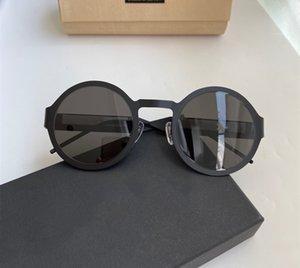 2234 nuove signore di occhiali da sole rotondi full-frame occhiali da sole lettere sono fatte di popolare contenitore di regalo libero full-frame ultra-sottile in lega di titanio