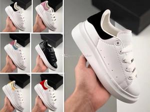 Skateboarding shoe for kid girl white running children shoe sneakers boy black leather shoes baby birthday gift 24-35