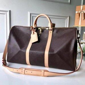 2021 Duffle Travel Bags Klassische Männer und Frauen tragen auf Gepäcktasche Wochenende über Nacht Gym Sporttasche