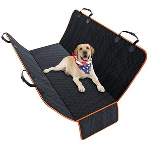 Dog Car Seat Covers - Extra Durable Heavy Duty Pet Seat Cover with Mesh Window - 100% Waterproof, Machine Washable, Nonslip & Pa