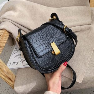 2021Mini Crossbody Simple Female Women Handbags For Handbag Stone Leather Saddle Bags Travel Pu Women's Bags Pattern Shoulder Qgtdi