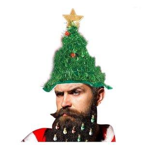 Chapéu de Natal Chapéu de Natal Chapéu de Primavera Festa Funny Festa de Natal Tree Decoracion Para Botellas Vino Duendes Navidad1