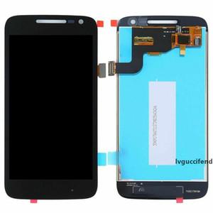 الهاتف الخليوي لوحات LCD تعمل باللمس التحويل الرقمي ل5.0 بوصة موتورولا موتو G4 اللعب استبدال أجزاء لم يحدد اطارا