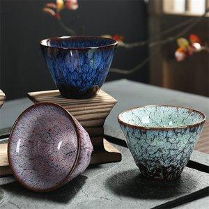 LUWU Ceramic Teacup Porcelain Cup Home Tea Cup Creative ceramic cup 120ml 1020
