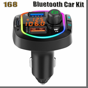Car Bluetooth 5.0 FM Transmitter Wireless Handsfree Audio Receiver Auto MP3 Player 2.1A Dual USB Fast Charger Car Accessories FM modulator