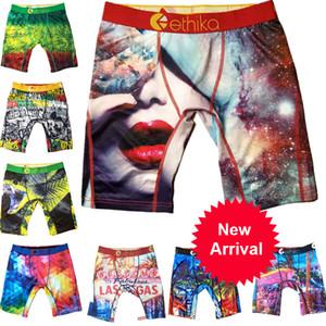 Underwear Homens Mulheres Ethika Esporte Boxer Técnico Quick Dry Graffiti Imprimir Marca Shorts Leggings Praia Troncos Calças U2 venda ABDDA quente