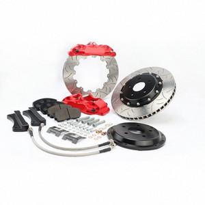 KOKO RACING WT5200 blue caliper aluminum bracket center bell dragon disc 17 inches wheel size for SJ Forester XT 2014 Dky0#