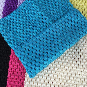 Fabric Sewing Accessories Baby Headband 15X15cm DIY Tulle Spool Tutu Crochet Chest Wrap Tube Apparel Supplies Girl Skirt1