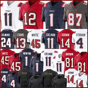 Tom Brady Jersey Cam Newton Rob Gronkowski Tampa