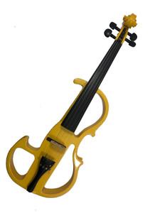 4/4 violino elettrico di colore giallo. strumenti a corda di alta qualità, adatti a principianti e gli amanti della musica