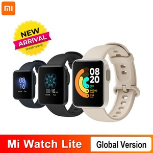 Xiaomi Mi Watch Lite GPS Bluetooth 5.1 Smart Watch Fitness Heart Rate Monitor 1.4 TFTLCD Screen 5 ATM Waterproof mi band