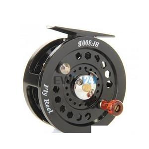 1piece fly flies fishing reels reel freshwater loop right left handed black new and hot selling fYovX