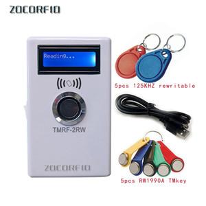 RFID ibutton Copier Duplicator handheld RW1990 TM1990 TM1990B ibutton DS-1990A I-Button 125KHz EM4305 T5577 TM card Reader