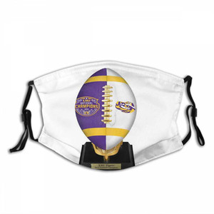 LSU Tigers Outdoor Face Mask Custom Face Mask Halloween Masque Christmas Decorations Suitable For Adults And Children Christmas