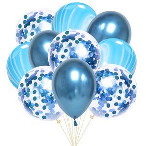 10pcs 12inch Latex Air Balloons Happy Birthday Party Decoration Wedding Helium Ballon Valentine's Day Baby Boy Girl Kids Rose bbybky