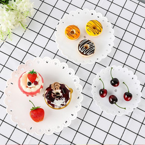 new 3 Plastic Holder Afternoon Tea Dessert Fruit Tier Stand Wedding Plate Three Layer Cake Rack kitchen tools T2I5706