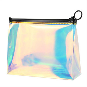 Cosmetic Storage Bags Transparent Portable Waterproof Women Bag Pouch For Make Up Portable Ladies Brushes Toiletry Wash Kit Bags