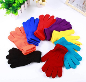 Unisex Winter Knitted Gloves Fashion Adult Solid Color Warm Gloves Outdoor Woman Warm Ski Mittens Xmas Gifts Tta1800 G2Syc