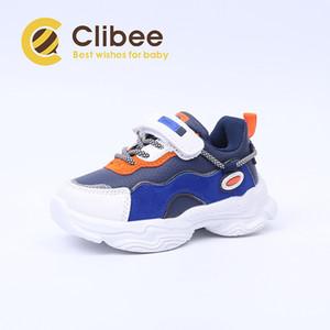 CLIBEE İlkbahar Sonbahar Erkek Çocuklar Kız PU Deri Spor Sneakers Konfor Hafif Çocuk Basket Ayakkabı Koşu