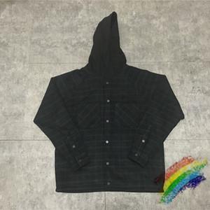 Jaquetas de tamanho grande Hoodie homens mulheres xadrez preto jersey hobe jaqueta 1 alta qualidade casacos outerwear pulôver