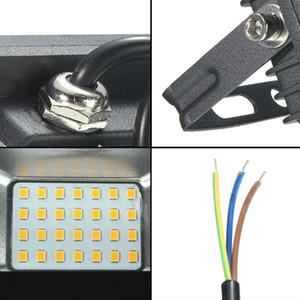 15w 30w 60w 100w 2835 SMD LED Lamp Luz de inundação outdoor paisagem Spotlight Pure White impermeável -240v Ip66 AC180