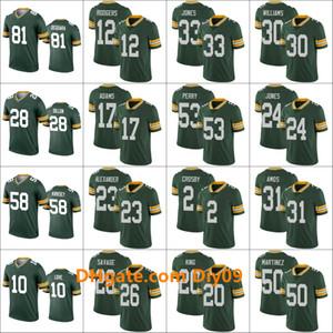 YeşilDefnePackersErkekler 10. Jor dan Aşk 12 Aaron Rodgers 23 Jaire Alexander Kadınlar GençlikNFL Yeşil Legend Jersey