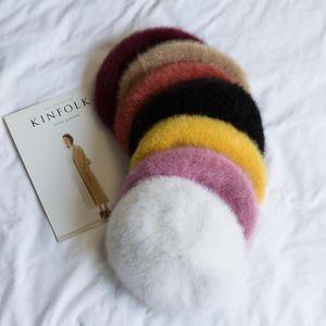 Classic Artist Winter Fashion Beret Women's Beret Hat Stylish Painter Newsboy Hats Femal