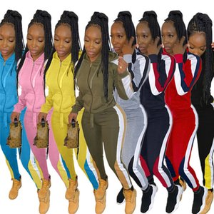 Women 3XL 2 piece sets  long sleeve jacket pants plus size fall winter casual clothing tracksuits plain outfits cardigan capris 4077
