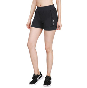 2021 new women's high waist split gym quick-drying stretch breathable leisure sports running jogging fitness shorts yoga pants