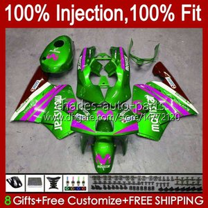 Inyección por Honda Movistar Green NSR 250 250R 1994 1995 1996 97 98 99 102hc.187 NSR250R NSR250 R MC28 PGM4 94 95 96 1997 1998 1999 Carreyo